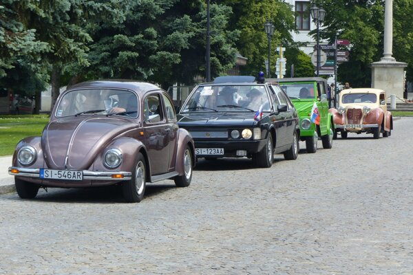 Historické vozidlá prešli Záhorím už po 30.-krát.