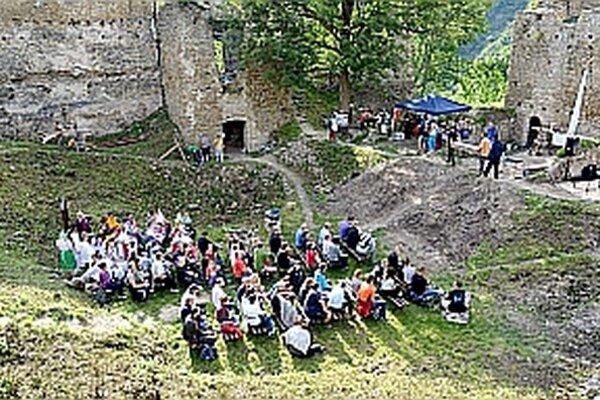 Podujatie sa na hrade uskutočnilo už tretíkrát.