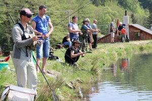 Rybárske preteky sa konali v Ostrom Grúni.