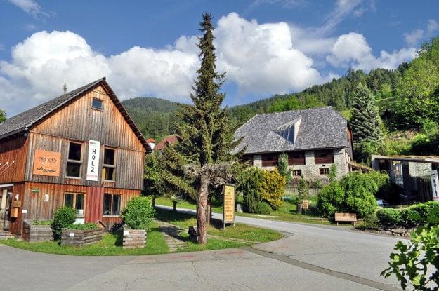 Múzeum dreva v obci St. Ruprecht ob Murau
