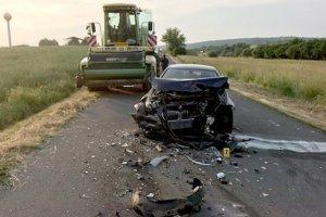 Tragická nehoda sa stala za Honstianskymi Trsťanmi.