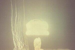 Test Climax v Nevade 4. júna 1953.
