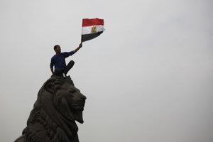 Námestie Tahrír, Egypt.