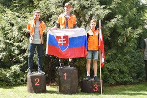 Šimon Kukuc (prvý) a Jozef Mišutka (druhý) )na súťaži v Čechách.