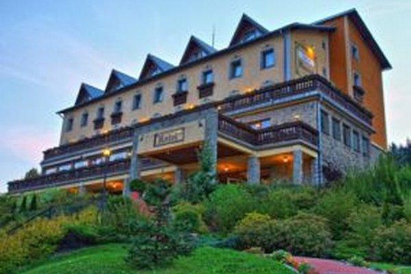 Horský hotel Husárik v Čadci.