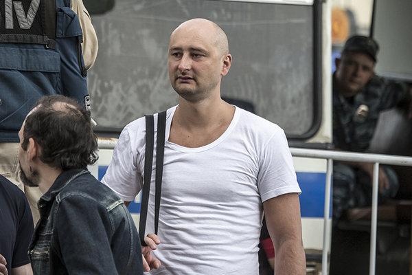 Novinára zastrelili v kyjevskom byte.