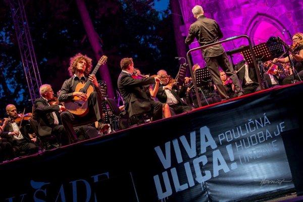 Dávid Bílek na záverečnom koncerte Viva Musica!
