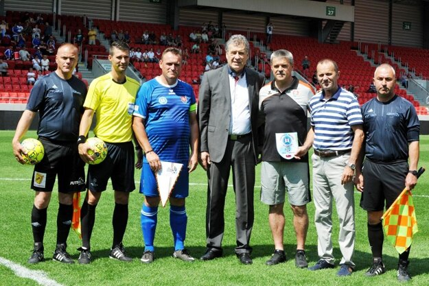 Hralo sa na Štadióne Antona Malatinského v Trnave.