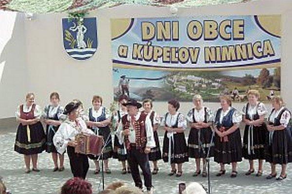 Nimničanka predstavila aj niekoľko piesní zo svojho CD.