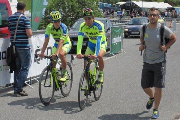Cyklistické preteky.