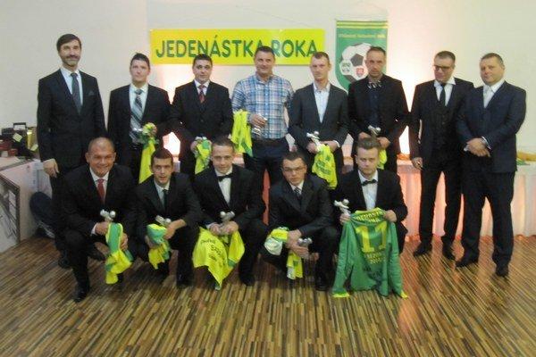 Jedenástka roka ObFZ Žilina za sezónu 2014/2015.