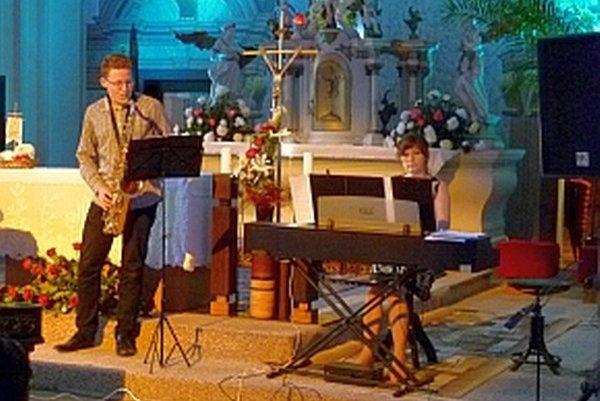 V kostole vystúpili umelci z ilavskej základnej umeleckej školy.