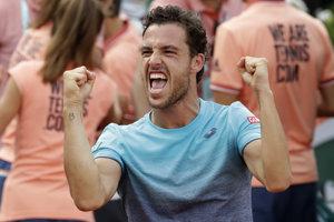 Marco Cecchinato je najväćśím objavom tohtoročného French Open.
