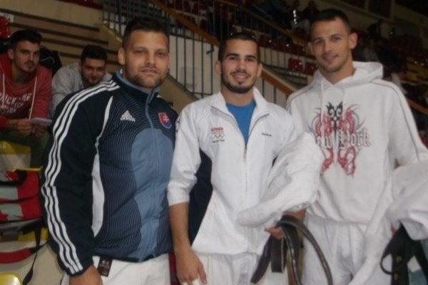 Zľava: Filip Šoška, Matej Poliak, František Zicho.