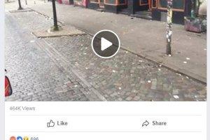 """""""Toto nepotrebuje slová"""", píše sa v nemeckom popise videa. Nejaké by sa zišli, aby sa z videa nestal propagandistický hoax."""