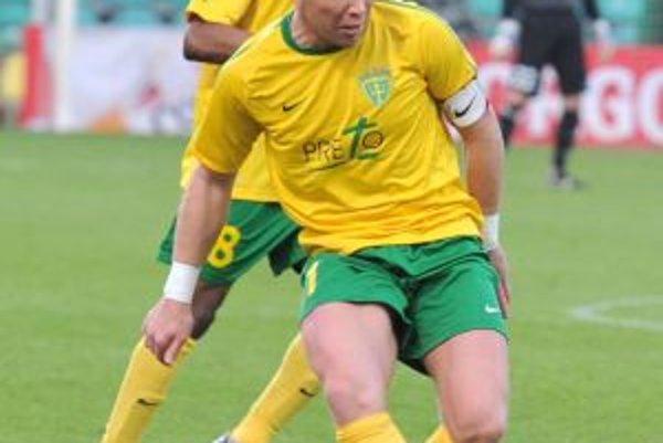 Kapitán Miroslav Barčík nastúpil na svoj tristý zápas za MŠK a výborný výkon okorenil gólom.