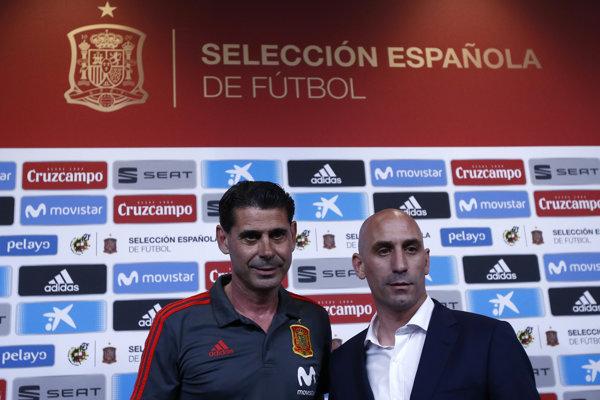 Španielsko na MS povedie Fernando Hierro (vľavo).