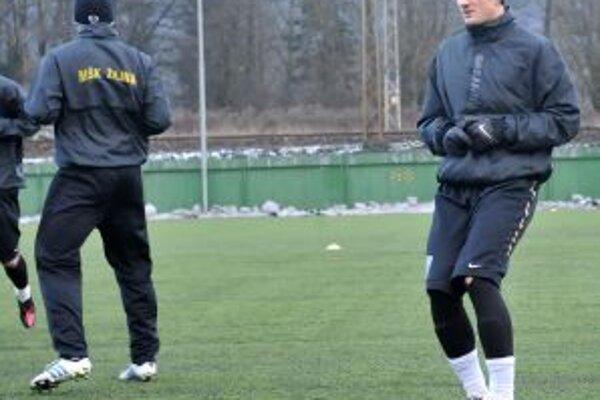 Osemnásťročný Milan Škriniar (na pravo) verí, že vo ViOne bude mať väčšiu šancu si zahrať.