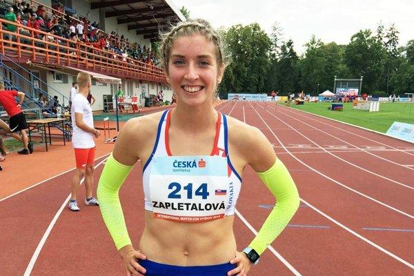 Emma Zapletalová má mesiac pred MS juniorov výbornú formu.