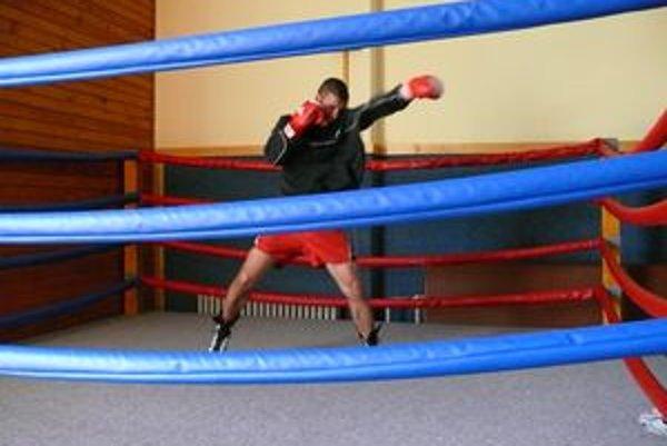 Vladimír Pakaník v ringu.