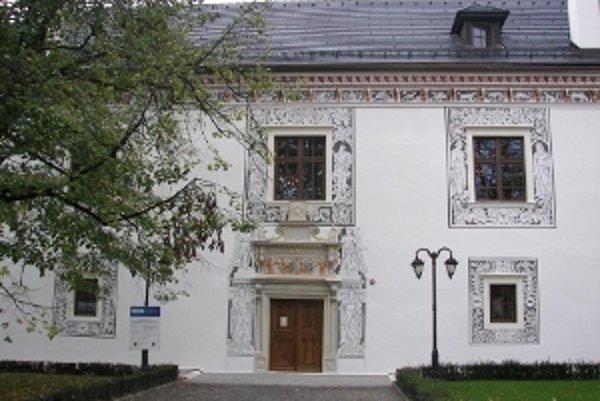 Sobášny palác v Bytči.