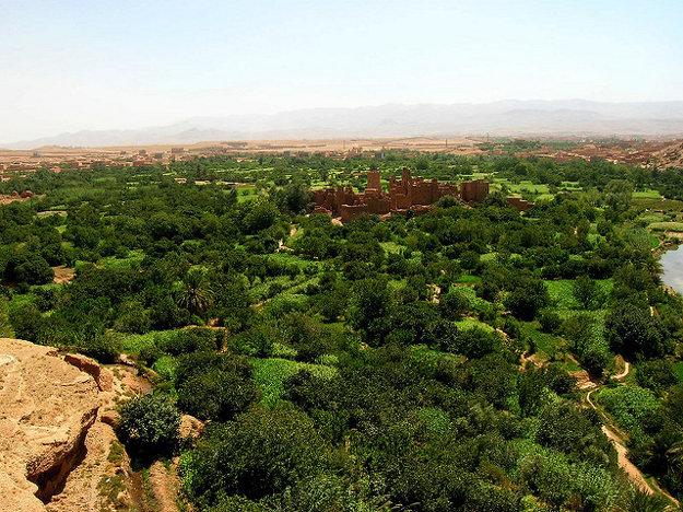 Kelaa Mgouna, Maroko.
