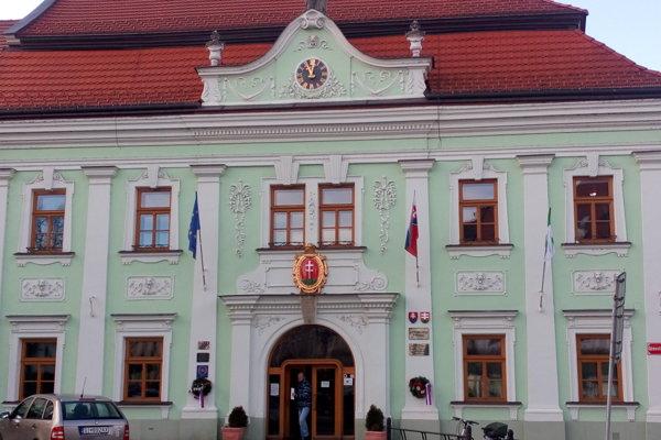 Mestský úrad v Skalici.