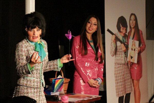 Poradňa krásy Sereď. V podaní dvoch výborných herečiek.