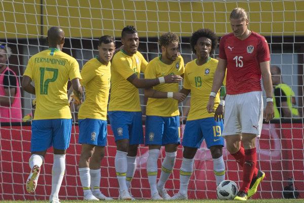 Reprezentanti Brazílie.