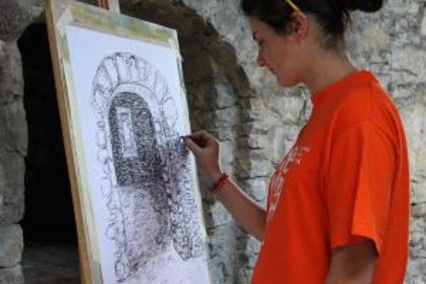V piatok budú na hrade strašidlá, v sobotu umelci.