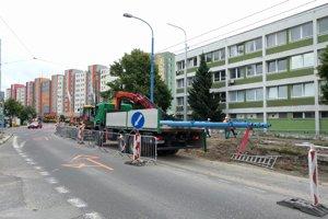 Úsek na Prievozskej sa rozšíri o jeden pruh, pred Centrom liečby drogových závislostí pribudne trvalá zastávka MHD.