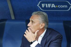 Tréner Brazílie Tite.