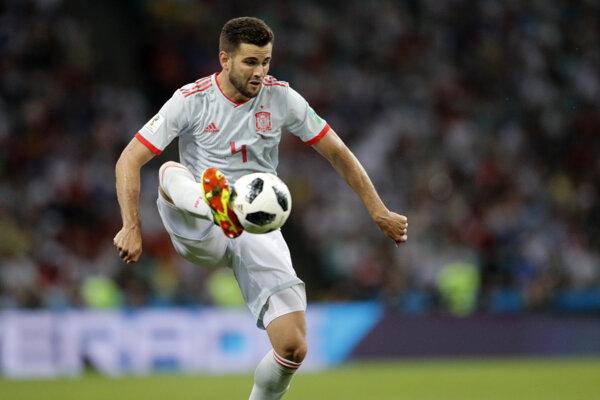 Španielsky futbalista Nacho.