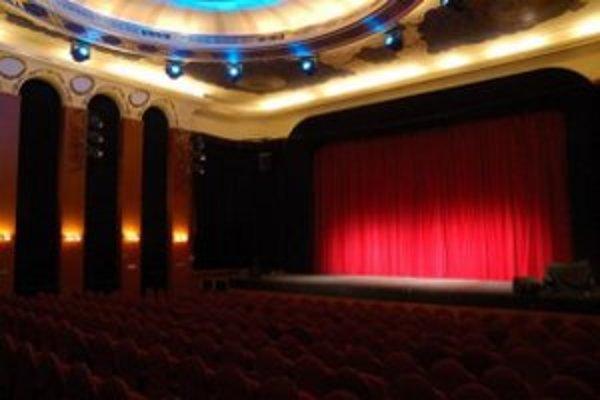 Veľká sála Mestského divadla v Žiline.