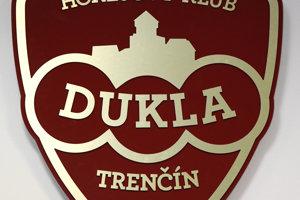Nové logo Dukly Trenčín.