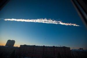 Vo februári 2013 vybuchol nad ruským Čeľabinskom 20-metrový meteor.