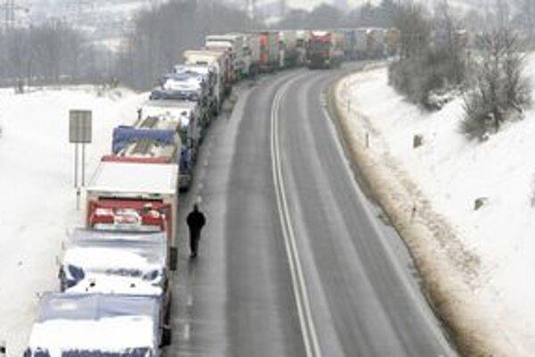 Aj ukrajinskí kamionisti sa chcú pridať k protestu.