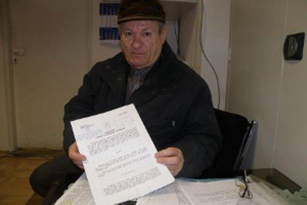 Milan Gužík sa cíti poškodený konaním Sociálnej poisťovne.