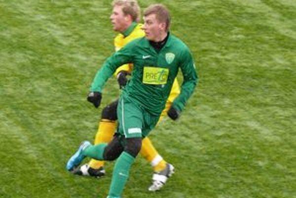 Tomáš Majtán (v zelenom) by sa mal čoskoro stať posilou MŠK Žilina.