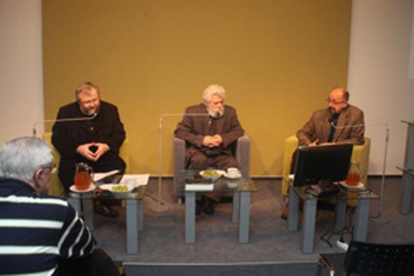 Zľava: Peter Ničík, Ivan Turek, Tibor Máhrik.