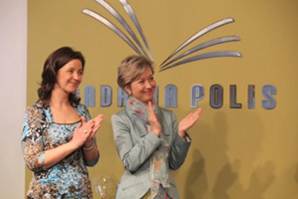 Nadácia Polis krstila logo, gratulácie príjmali šéfky Milena a Dana Prekopové.