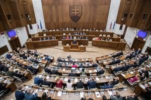 Ilustračné foto - rokovanie Národnej rady SR.