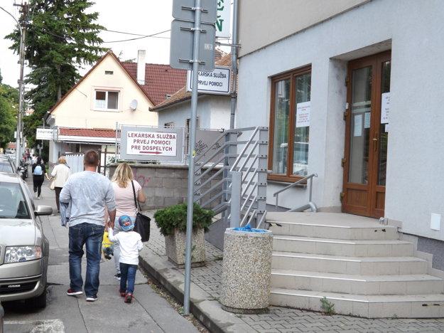 Pohotovosť pre dospelých v Nitre.