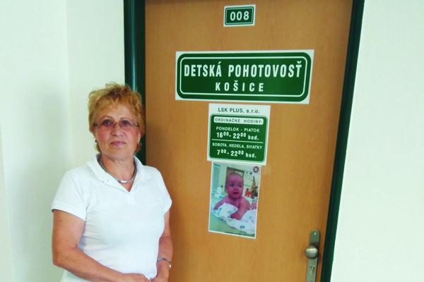 Valéria Vasiľová, jedna z 80 lekárov na novej pohotovosti na Národnej triede.
