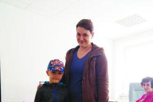 Sebastián s mamou prišli s čerstvo zapáleným okom.