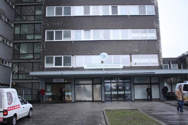 Nemocnica v Galante patrí do siete Svet Zdravia.