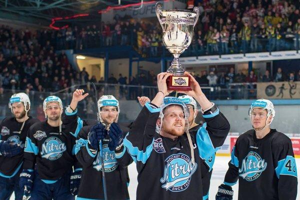 V minulej sezóne sa Nitrania tešili z Vyšehradského pohára po finále s Miškovcom.