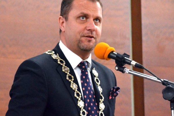 Úradujúci primátor Martina Andrej Hrnčiar.