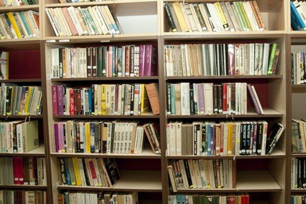 Zber kníh.