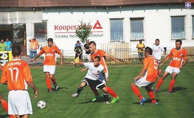 Záber zpohárového zápasu proti Trnave zroku 2015.